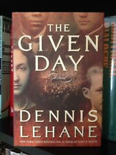 Dennis Lehane Signed The Given Day 1st Ed. HC
