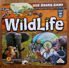Wildlife - DVD Board Game in Collectors' Embossed Tin - Educational - Excellent