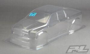 Ram 1500 Clear 1/8 RC Monster Truck Body For T/E-Maxx/E-Revo/Revo