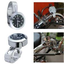 "New Universal 7/8"" 1"" Motorcycle Accessory Handlebar Mount Clock Watch For Honda"