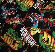 MARVEL COMIC HERO FABRIC HERO incredible Hero DIY FABRIC  50x160cm