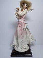 Giuseppe Armani Figurine Sculpture 1653C New Friends 2003 Figurine Of The Year