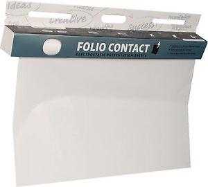 DAS ORIGINAL!  Whiteboard Folie 60x80cm 25 Blatt weiß elektrostatisch haftend