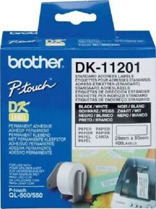 Genuine Brother P-touch Label Refill (DK-11201)