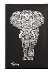 Large Zen Elephant Memo Slip In Photo Album Holds 300 6 x 4 10x15cm Photographs