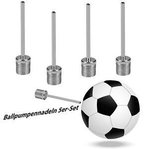 Ballnadel Ventil Ball Pumpe Nadel Ballpumpe Luftpumpe Fußball Basketball Set