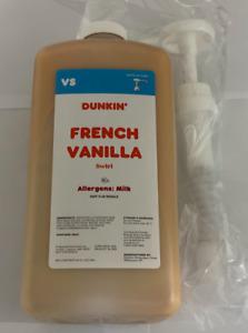 Dunkin Donuts French Vanilla Swirl (FREE SHIPPING)