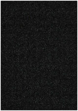 10 hojas Gris Carbón A4 STARDUST brillo chispeante Tarjeta 285gsm Grueso Craft