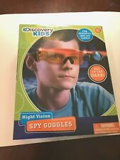 Discovery Kids Night Vision Spy Goggles LED Lights In Box