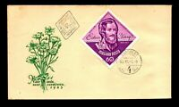 Hungary 1963 Eotvos Yozsef FDC / Very Light Toning - L9054