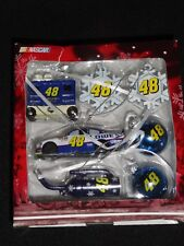 JIMMIE JOHNSON 2010 CAR, GAS CAN, TOOL BOX AND OTHER COLLECTIBLE ORNAMENTS