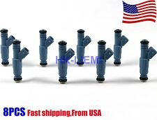 8PCS 24lb Fuel Injectors Matched Chevrolet Ford Pontiac LS1 LT1 5.0L 5.7L 250cc