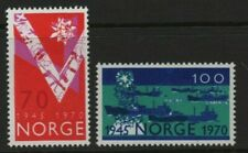 Norway Stamps 1970 SG 648-649 25th Anniversary of Liberation Unmounted Mint MNH