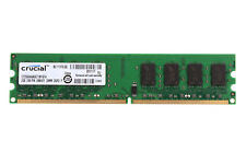Crucial 2GB PC2-5300 DDR2 667Mhz 240Pin CL5 UDIMM Desktop Memory RAM For Intel