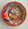 Keramikteller Orientalisch Mediterran Handbemalt Deko Kunsthandwerk Ø 30 cm