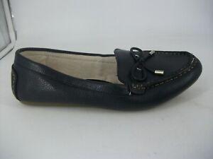 Evans Navy 'PARKER' Wide Fit E Loafers UK 8 JS094 FF 14