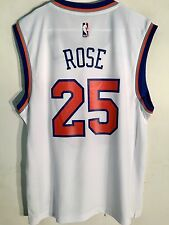 Adidas NBA Jersey New York Knicks Derrick Rose White sz S 21e15373a