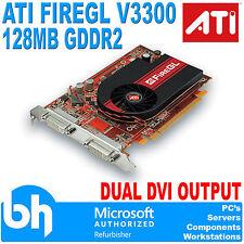 HP ATI FireGL V3300 Graphics Card 128MB GDDR2 PCI Express x16 Dual DVI CAD/DCC
