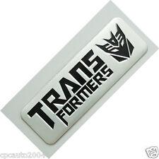 Car Metal Aluminum Decepticon Transformers Trunk Emblem Badge Sticker
