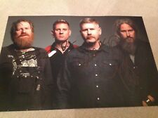 MASTODON METAL HAND SIGNED 12 X 8 PHOTO BRENT HINDS LEVIATHAN PROOF W COA