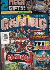 SEALED 110% GAMING Games Mag Minecraft + Ultimate Cheats Tips Book/2015 Calendar