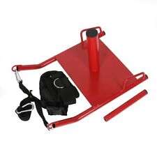 Power Speed Fitness Sled w/Harness Weighted Drag Sport Crossfit Running Football