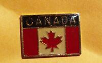 Canada flag pin badge Canadian Maple Leaf