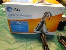 AT&T TL7610 Silver/Black Ear-Hook Headset Used just for a Couple of weeks