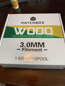 Hatchbox Wood PLA 3.0mm New
