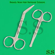Professional Beauty Nose Hair Remover Scissors Manicure Cuticle Toe Nail Clipper