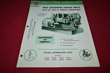 Detroit Diesel 71 Series Engine Generator Sets Dealer's Brochure BWPA ver2