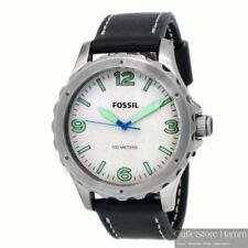 FOSSIL Uhr Nate JR1461 Herren Armbanduhr 10atm wasserdicht Lederband