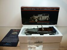 PAUL's MODEL ART MERCEDES BENZ TYP 770 CABRIOLET F 1931 -1:24 - EXCELLENT IN BOX