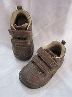 Genuine Baby by OshKosh Boy sneakers AXEL Brown Athletic Shoe NEW H/&L Shoes
