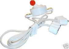 50 cm Kabel-Verlängerung mit Schalter für Puppenhausbeleuchtung, Kahlert 67625