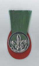 SCOUTS OF HONG KONG - Scout Leader (Master) (SM / SL) Metal Plume (Hat Patch)