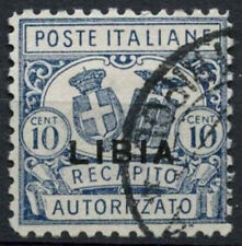 Libya Italian Colony 1929 SG#CL68a 10c Concessional Letter Post P11 Used #A92575