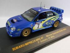 Coches de rally de automodelismo y aeromodelismo IXO Subaru escala 1:43