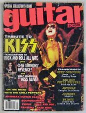 Guitar School Edition collector Tribute to Kiss Juillet 1992