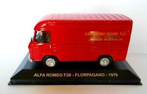 DIE CAST PUBBLICITARI 1/43 ALFA ROMEO F20 FLORPAGANO 1979 (TECA ROTTA) #99B