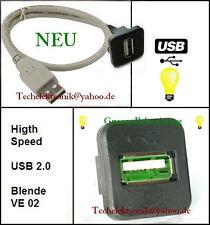 USB Einbaubuchse BELEUCHTUNG 50cm passend für PS4 Pro PS3 XBOX One x Xbox 360 PC