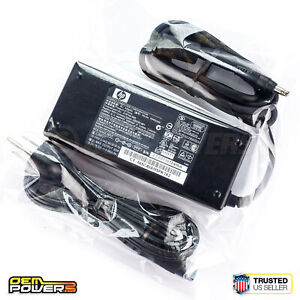 Genuine HP 90W Notebook PC AC Adapter Power Charger nw8000 nc8230 nx8220 nw8240