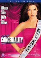 MISS CONGENIALITY Sandra Bullock, Michael Caine DELUXE EDITION DVD NEW