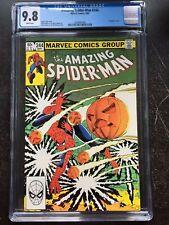 AMAZING SPIDER-MAN #244 CGC NM/MT 9.8; White pg!; 3rd Hobgoblin!