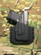 Black Kydex Holster for Glock 26 27 Streamlight TLR-6