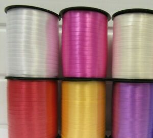 500m Colour Balloon Curling Ribbon Wedding Birthday Gift & Craft Party Ribon