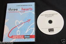 THREE OF HEARTS [BRAVO TV SPECIAL] 2006 PROMO DVD