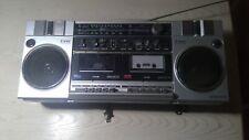Sanyo Stereo Radio Cassette Recorder Boombox w/ 2 Way Speaker System Model M-W3K
