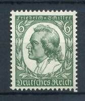 Deutschland 1934 Mi. 554 Postfrisch 100% 6. Friedrich Schiller, Schriftsteller