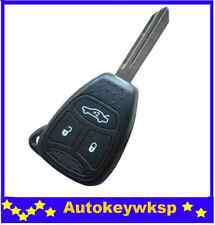 Chrysler Jeep Cherokee 3 Button Remote Key Shell case new style